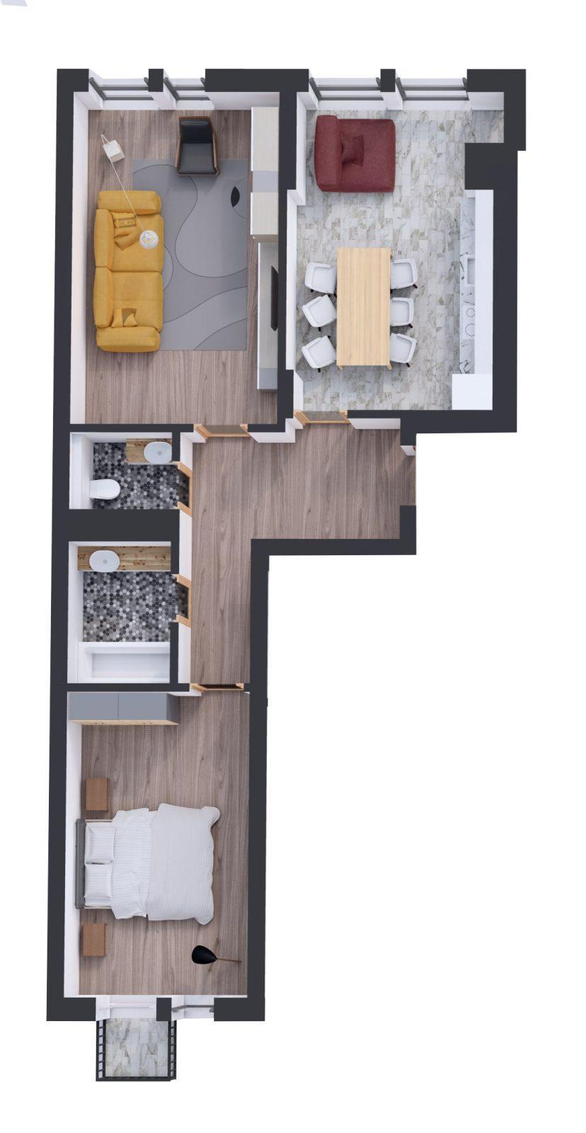 Квартира № 75