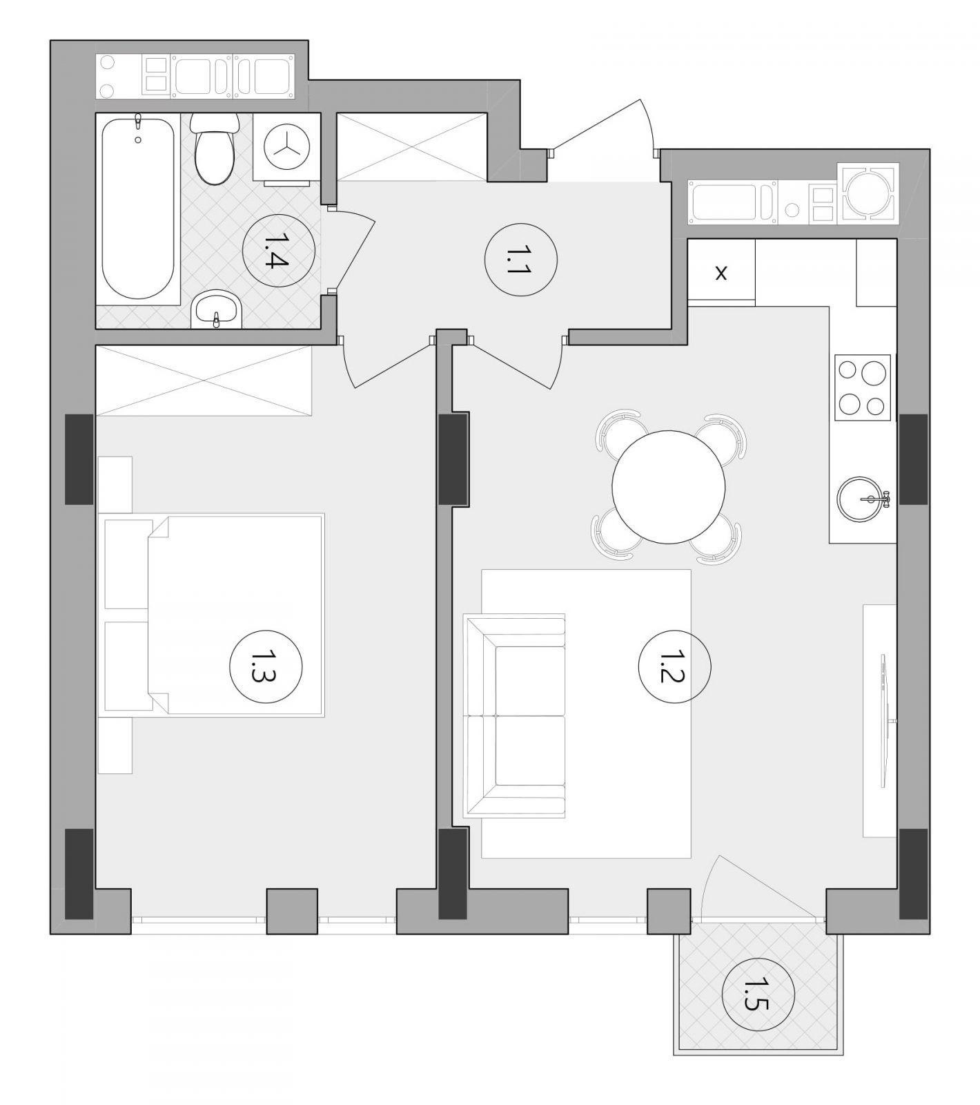 Квартира № 86