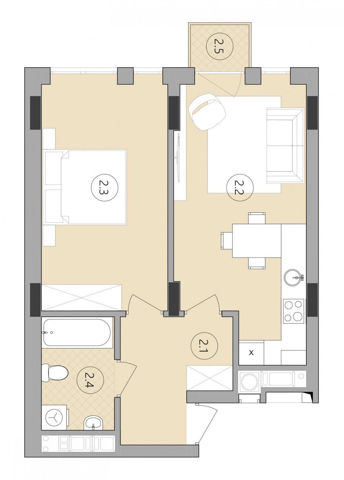 Квартира № 87