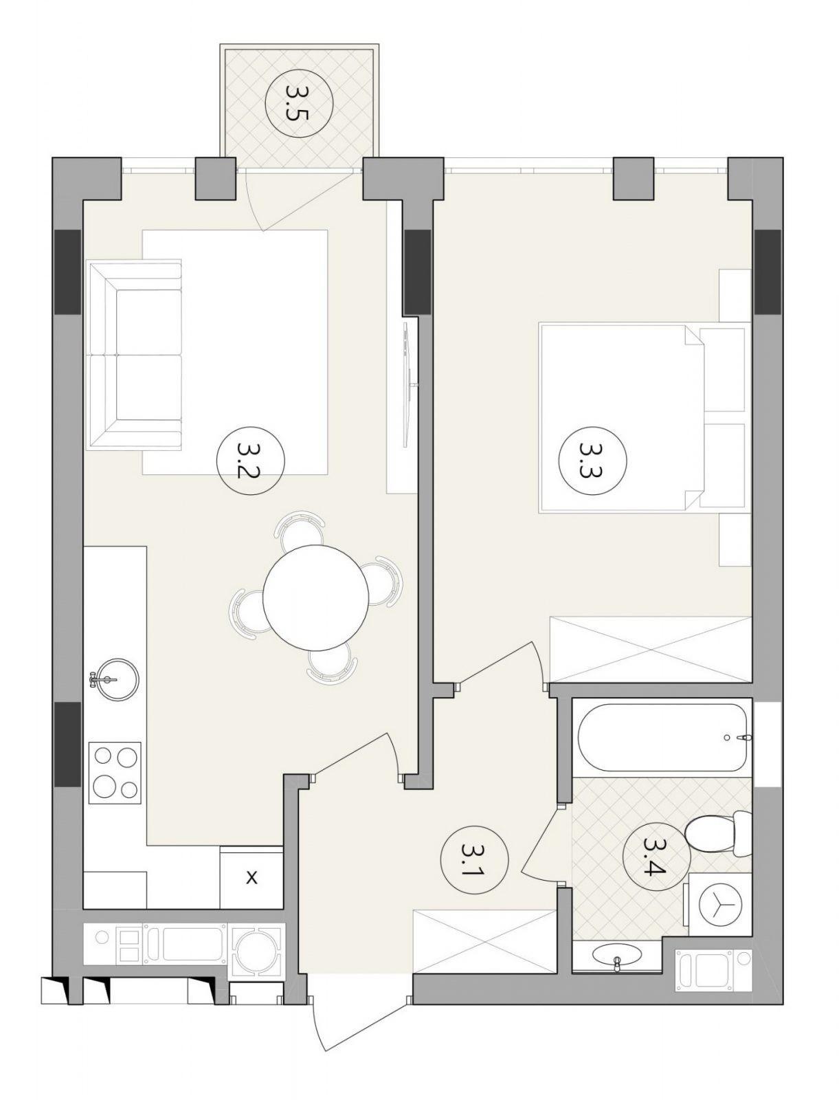 Квартира № 88