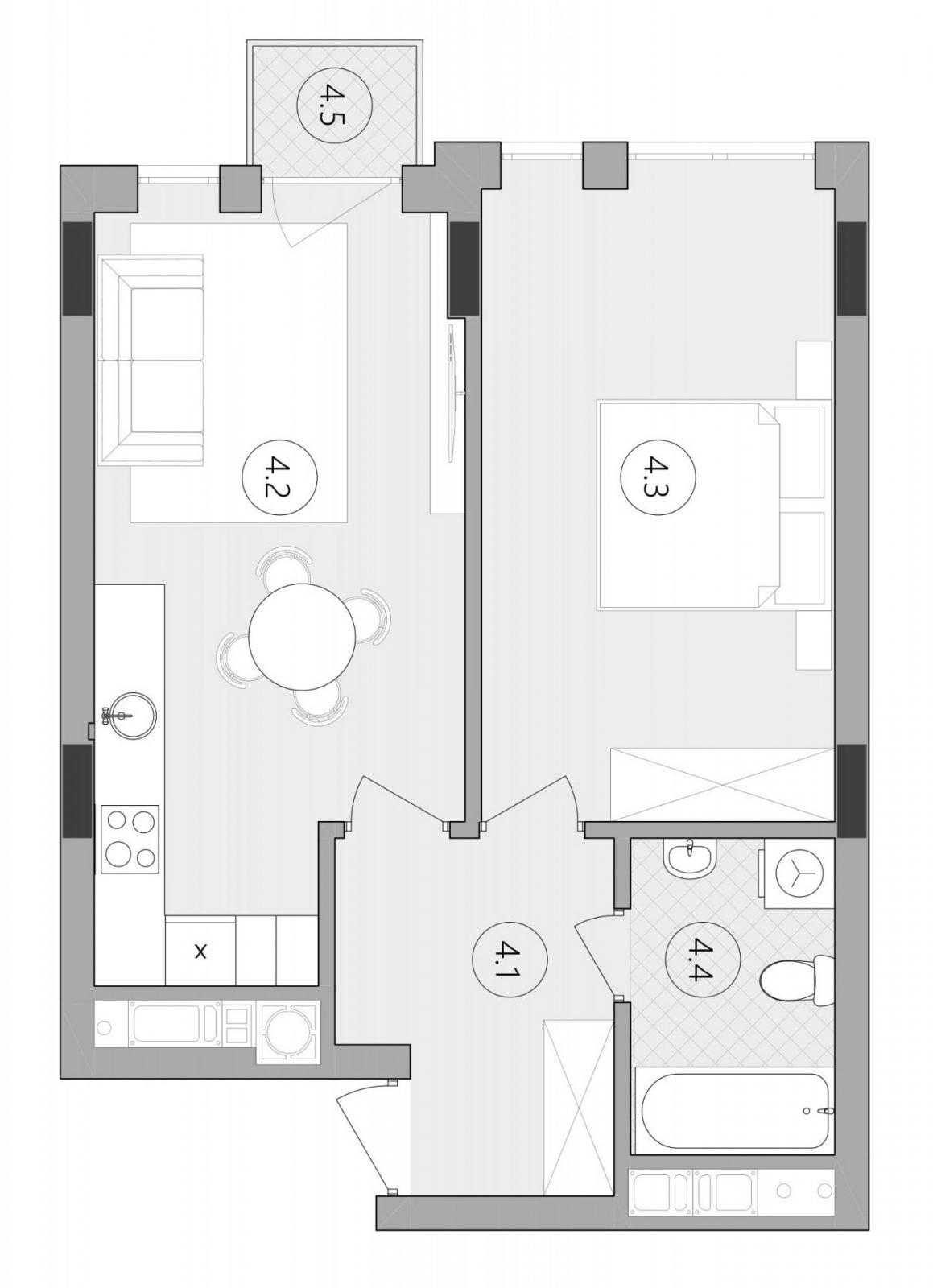 Квартира № 89