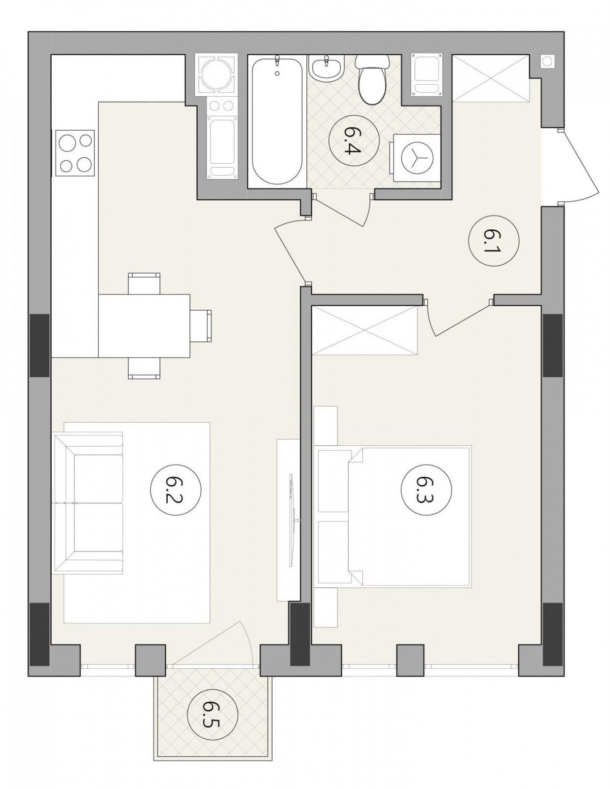 Квартира № 41